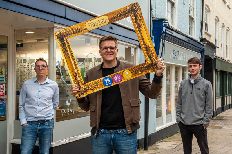 Norwich's Coleman Opticians to stock glasses created with waste plastic and recycled fishing nets
