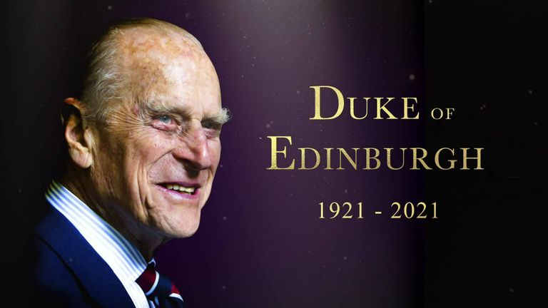 Early closing as a mark of respect to the Duke of Edinburgh